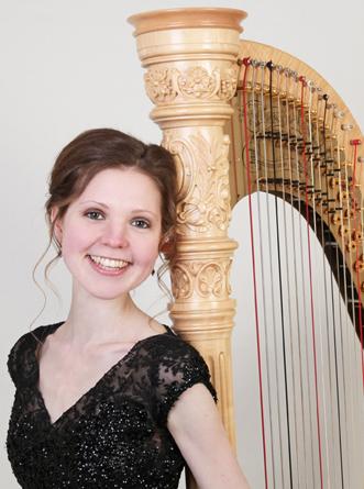 Mary Plays Harp