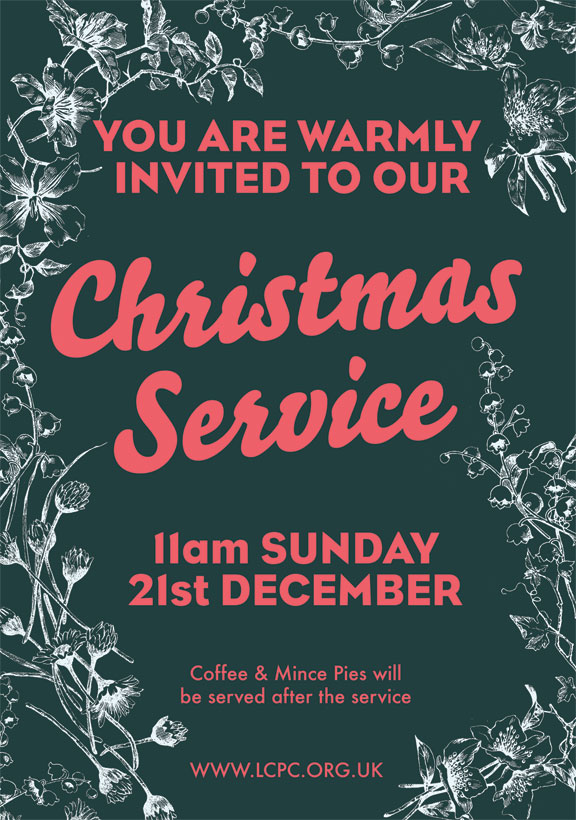 Christmas Service – All Welcome!