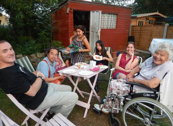 Social at the Silvas
