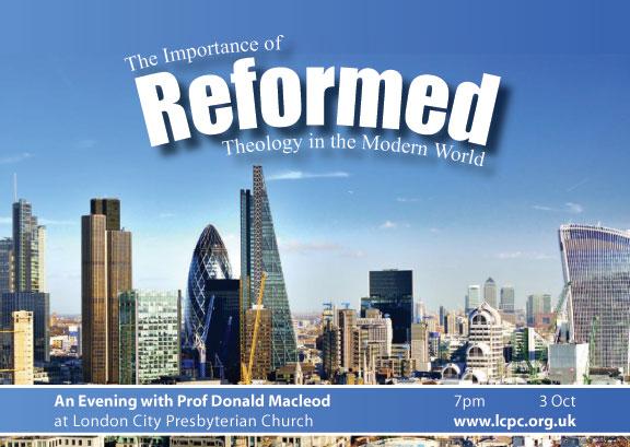An Evening with Prof Donald Macleod