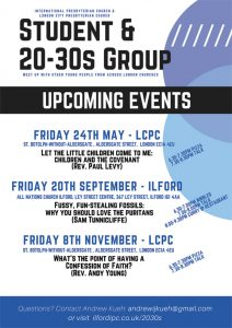 Joint 20s & 30s @ LCPC