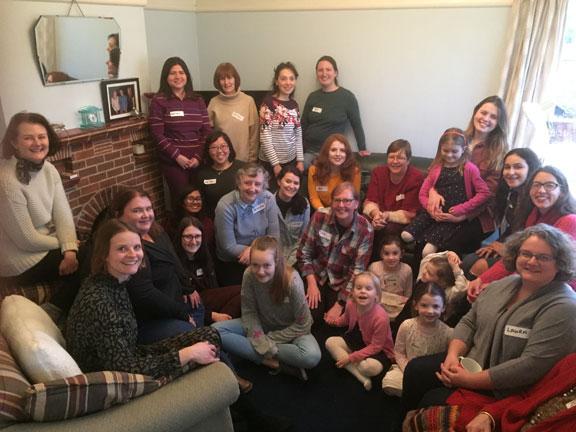 Women from London City Presbyterian Church